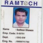 Sudheer Dhawan